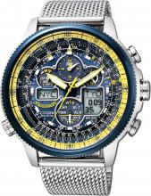 CITIZEN PROMASTER Eco-Drive radio clock Sky series limited Blue Angels model JY8031-56L men