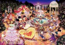 1000Pieces Puzzle Disney Night Wedd...