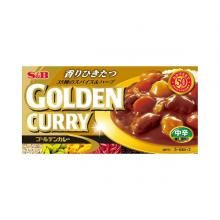 S&B Golden Curry, Medium Spicy[pantry]