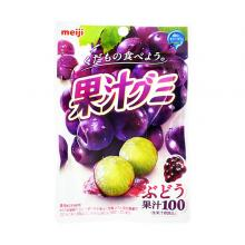 Fruit Juice Gummi, Grape (10 set)