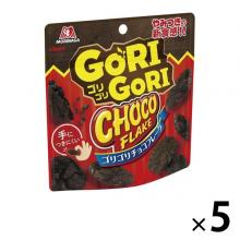 Morinaga Gorigori Chocolate Flake Chocolate Sweets x 5 [pantry]