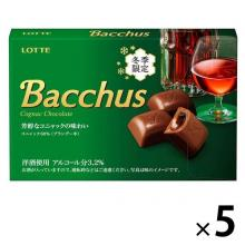 Lotte Bacchus Chocolate Candy x 5 [...