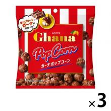 Lotte Ghana Popcorn Chocolate Snack...