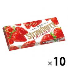 Meiji Strawberry Chocolate Chocolat...