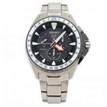 SEIKO PROSPEX Marine Star Solar Quartz Men's Ceramic Titanium QZ Quartz Watch SBED003 8X53-0AL0-2 (Used)