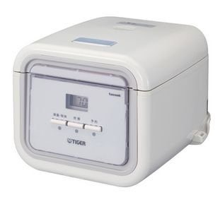 Overseas Supported Rice Cooker 220-230V Specification Tiger JAJ-A55S-WS