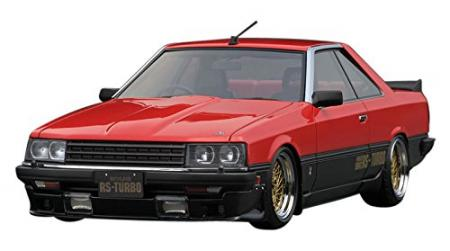 ignitionmodel 1/18 Nissan Skyline 2000 RS-Turbo R30 Red Completed Model