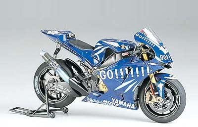 Tamiya 1/12 Motorcycle Finished Product Yamaha YZR-M1  04 No.17 Finished Product