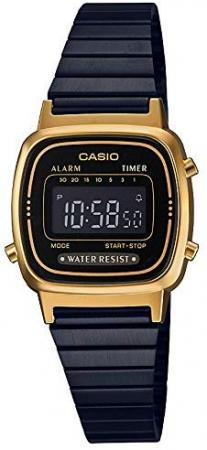 CASIO Wristwatch Standard LA670WEGB-1BJF Ladies Black