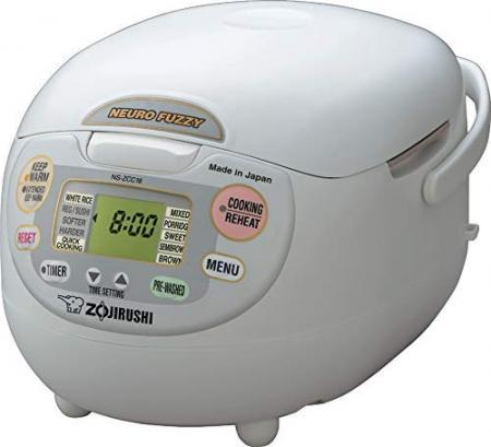 Overseas Supported rice cooker (10 go, 1 sho, 1.8L) Zojirushi NS-ZCC18 (120V)