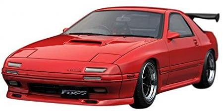 ignitionmodel 1/18 Mazda Savanna RX-7 (FC3S) Red Completed Model