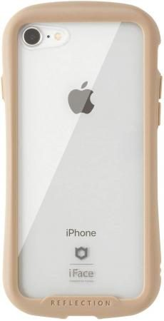 iFace Reflection iPhone SE 2020 2nd Generation / 8/7 Case Clear Hardened Glass (Beige)