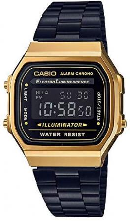 CASIO Wristwatch Standard A168WEGB-1BJF Black