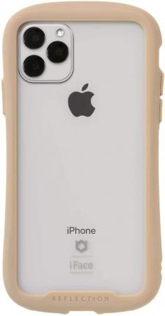 iFace Reflection iPhone 11 Pro Max Case Clear Tempered Glass (Beige)
