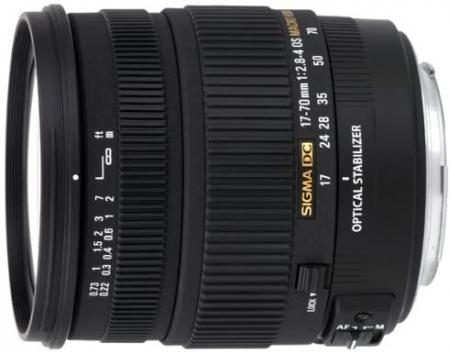 SIGMA 17-70mm F2.8-4 DC MACRO OS HSM for Sony