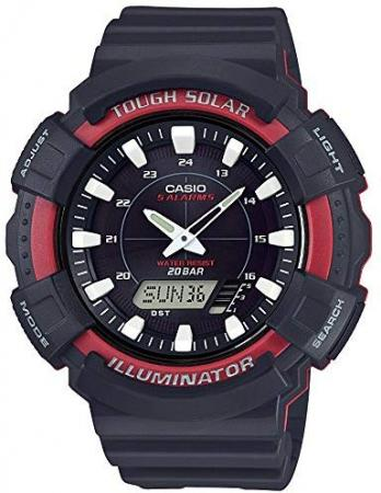 CASIO Wristwatch Standard Solar AD-S800WH-4AJF Men's Black