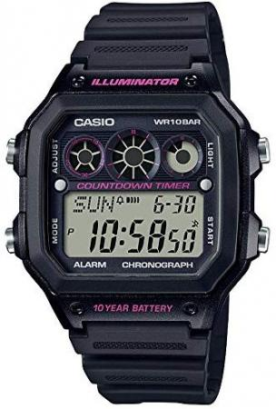 CASIO Wristwatch Standard AE-1300WH-1A2JF Men's Black