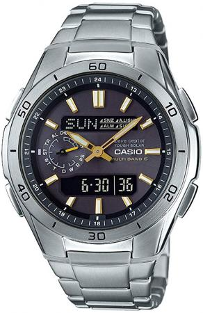 CASIO Wave Scepter Electric Wave Solar WVA-M650D-1A2JFMen's Silver