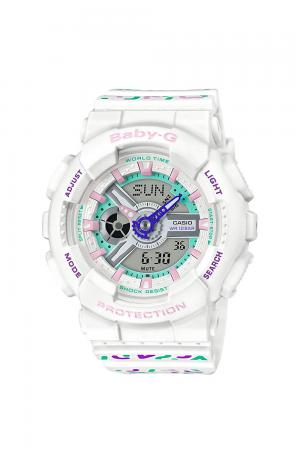 Baby-G geometric pattern BA-110TH-7AJF Ladies