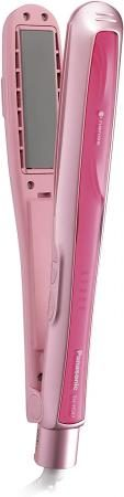 Panasonic hair iron straight for overseas compatible nano care pink EH-HS97-P