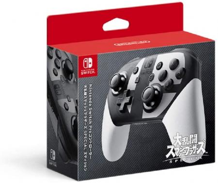 Nintendo Switch Pro Controller Super Smash Bros. SPECIAL Edition