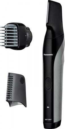 Panasonic body trimmer Bath shaving is possible Overseas correspondence Men's silver tone ER-GK81-S