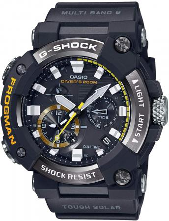 CASIO G-SHOCK Bluetooth equipped radio solar FROGMAN carbon core guard structure GWF-A1000-1AJF Men's