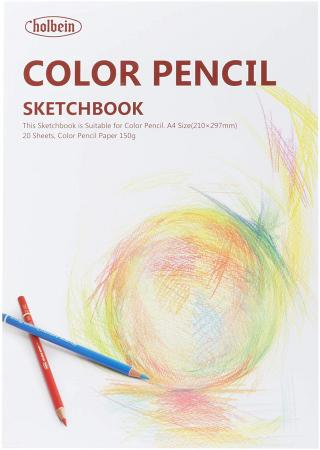 Holbein Color pencil sketchbook YCP-A4 271202