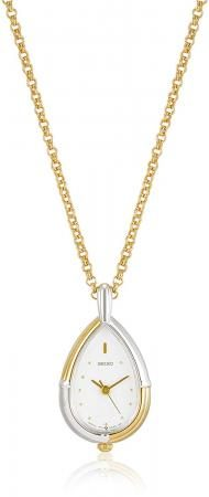 SEIKO pocket watch pendant watch drop type case with chain SWPX004