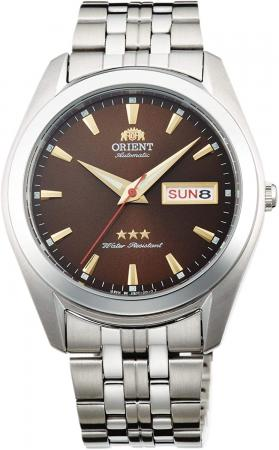 Orient Tri Star Automatic Red Dial Men's Watch RA-AB0034Y19B