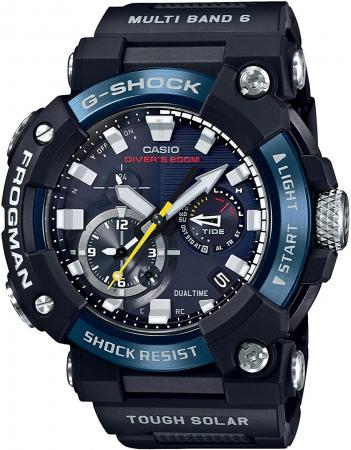 CASIO G-SHOCK Bluetooth equipped radio solar FROGMAN carbon core guard structure GWF-A1000C-1AJF Men's Black