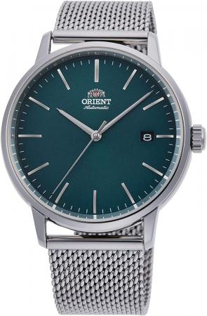 ORIENT Contemporary Wrist Watch RA-AC0E06E10B-Stainless Steel Mens Automatic Analog