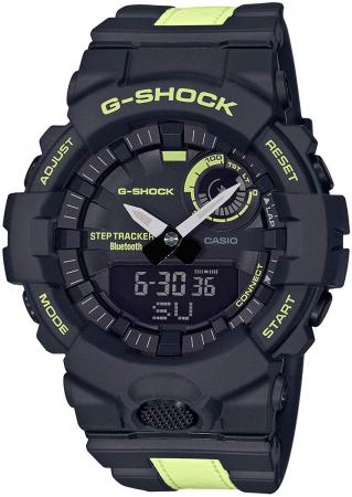 GBA-800LU-1A1JF Men's with G-SHOCK G-Squad Bluetooth