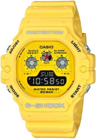 CASIO G-SHOCK Hot Rock Sounds DW-5900RS-9JF Men's Yellow