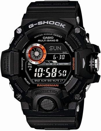 CASIO G-SHOCK RANGEMAN radio wave solar GW-9400BJ-1JF black