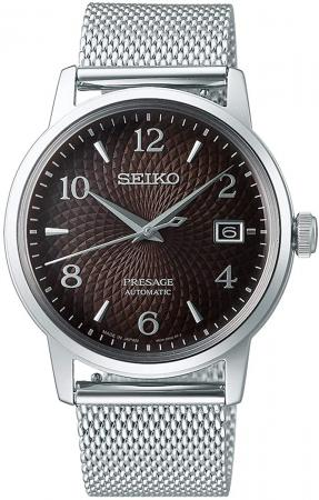 SEIKO PRESAGE Mechanical Watch Cocktail Time Black Russian SARY179 Men's