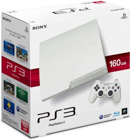 PlayStation 3 (160GB) Classic White (CECH-3000A LW)