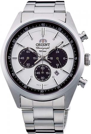 ORIENT Watch Sporty NEO 70  s Neo Seventies SOLAR PANDA Milky White WV0041TX Men's