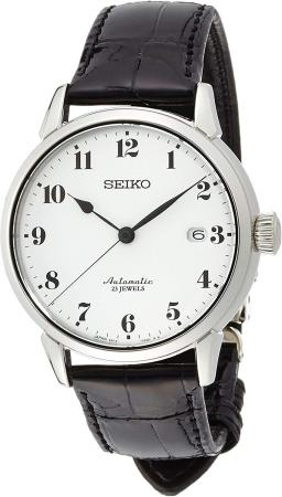SEIKO PRESAGE enamel dial mechanical self-winding (with hand winding) curve sapphire glass SARX027