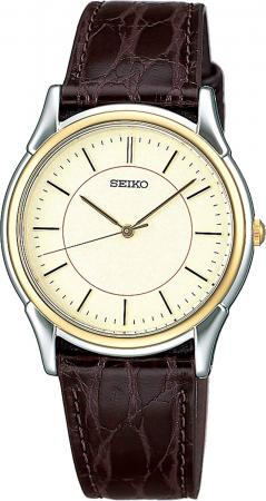 SEIKO Watch Spirit Quartz Pair Watch Hard Rex SBTB006 Brown