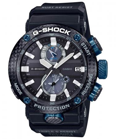 CASIO G-SHOCK Bluetooth equipped radio wave solar carbon core guard structure GWR-B1000-1A1JF Men  s Black