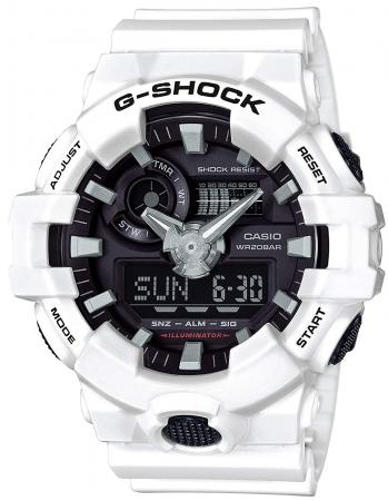 CASIO G-SHOCK G-SHOCK GA-700-7ADR Men's White