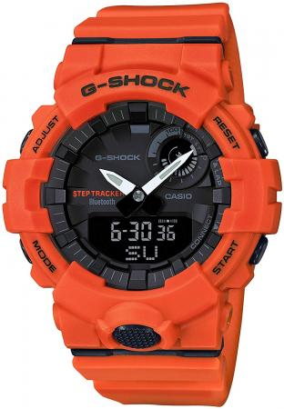 CASIO G-SHOCK G-SQUAD GBA-800-4AJF Men's Orange