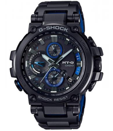 CASIO G-SHOCK MT-G Bluetooth equipped radio wave solar MTG-B1000BD-1AJFMen's Black