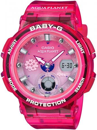 CASIO Baby-G Baby-G Aqua Planet Collaboration Model BGA-250AQ-4AJR Ladies