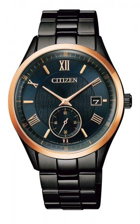 CITIZEN Citizen Collection Eco Drive Small Second Limited Edition World Limited 2,600 BV1124-90L Men's Black