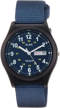 SEIKO Aruba Sports Reinforced waterproof for daily life (10 atm) Date and day of the week notation AQPJ409 Blue