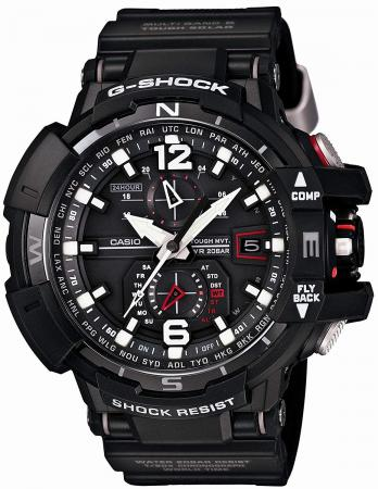CASIO G-SHOCK Gravity Master World 6 stations compatible radio solar GW-A1100-1AJF Black