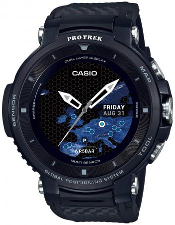 CASIO Watch Smart Outdoor Watch Pro Trek Smart GPS equipped WSD-F30-BK Men's Black