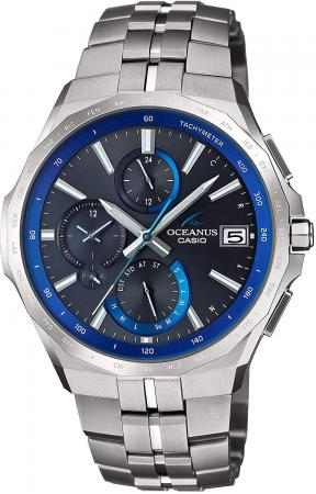 Radio wave solar OCW-S5000-1AJF men silver equipped with CASIO Oceanus Manta Bluetooth